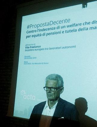 """#PropostaDecente: Sergio Bologna introduce l'incontro europeo """"Vite freelance""""   ACTA   NOTIZIE DAL MONDO DELLA TRADUZIONE   Scoop.it"""