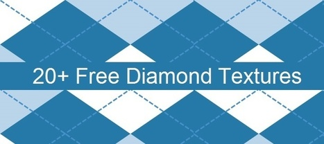 20+ Pretty and Free Diamond Textures for Photoshop | Inspired By Design | Scoop.it