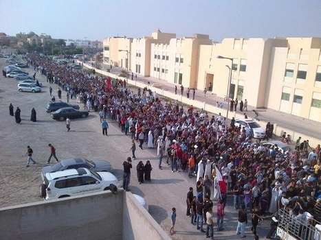 The funeral of Ali Hussain, martyred by the AlKhalifa terrorists.  Ali was 17 years old! | Human Rights and the Will to be free | Scoop.it