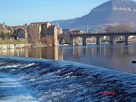 PONT LEROUGE A MILLAU EN AVEYRON PAR UNE BELLE JOURNEE DE FEVRIER | Aveyron | Scoop.it