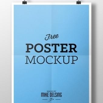 Free Poster Mockup Psd - Psd Files - GFXNERDS | gfxnerds | Scoop.it