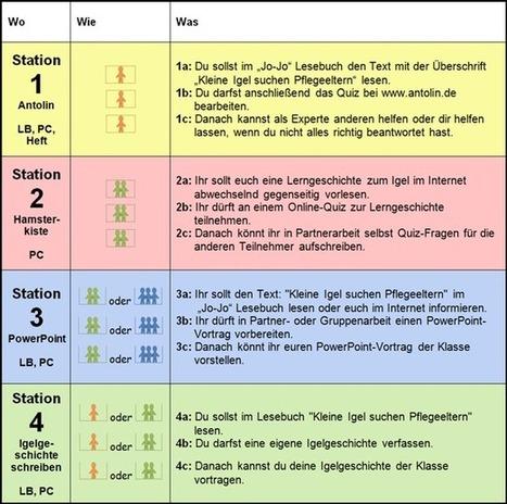 Course: Kleine Igel, große Igel | Unterricht im Computerraum | Scoop.it