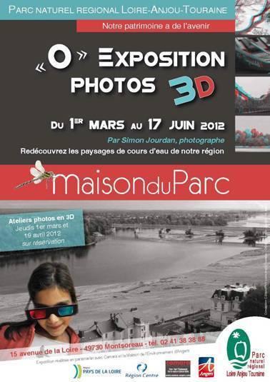 Montsoreau : Expo ''O'' - Photos en 3D à la Maison du Parc | Revue de Web par ClC | Scoop.it