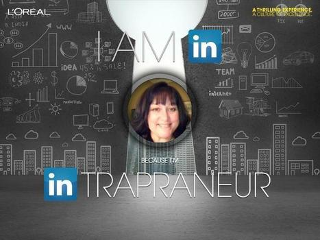 L'Oreal 300,000 followers: I am IN because I'm INtrapreneur - ARE YOU IN? | Social Media by Simply Social Media | Scoop.it