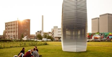 Eerste Smog Free Tower geplaatst in Rotterdam   Stedebouw & Architectuur   Real Estate Management   Zuyd Bibliotheek   Scoop.it