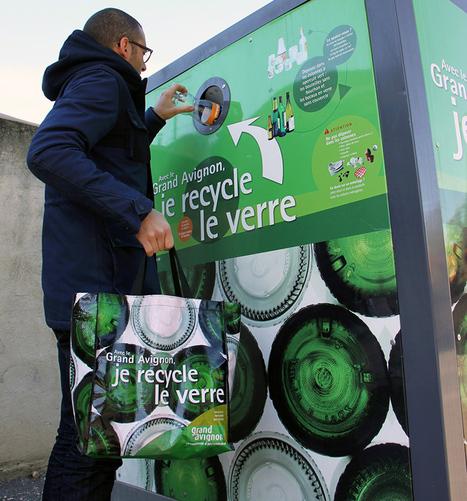 Tri sélectif : des collecteurs de verre plus proches de vous | échoplanète - Environnement, économie et solidarité en Provence | Gestion et valorisation des déchets | Scoop.it