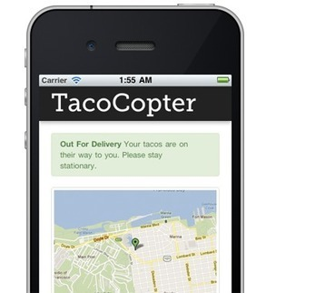 TacoCopter | The Robot Times | Scoop.it