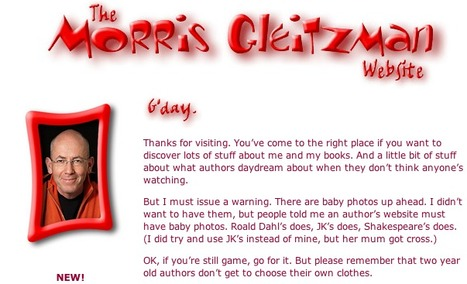 Welcome to the Morris Gleitzman Website | Reading on the Web | Scoop.it