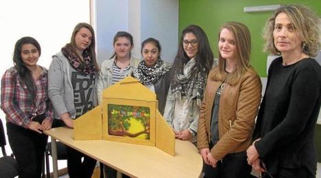 Les lycéens ont lu des contes aux tout-petits   Le lycée agricole de Caulnes   Scoop.it