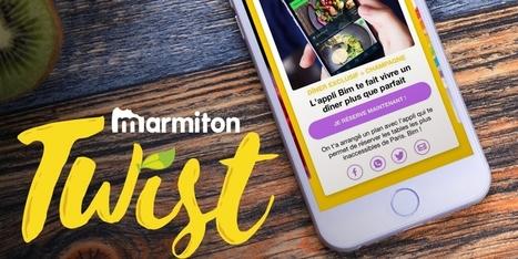 [Publicité] Twist, la nouvelle application de Marmiton pour les food-trend setters - Dossier : Mobile marketing   Social web 2.0   Scoop.it