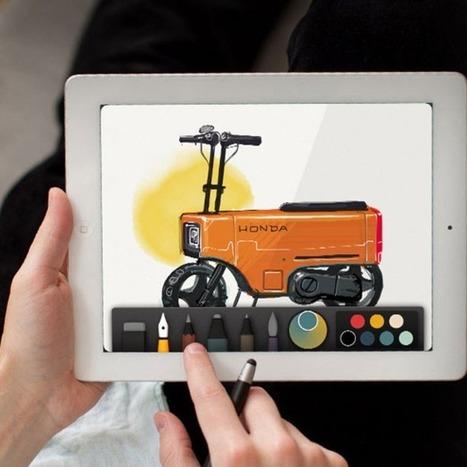 5 Best Tablet Apps for Doodlers   Social Media Marketing   Scoop.it