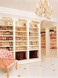 Shoe Closets of the Stars - Mariah Carey | GirlyGlamHome | Scoop.it