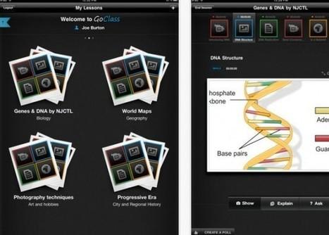 GoClass, aplicación para que los profesores den lecciones en iPads | Enseñanza de ELE | Scoop.it