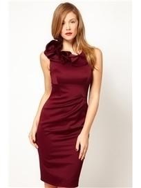$ 49.99 Elegent Scoop Sleeveless Scollop Party Dress   Fashion women   Scoop.it