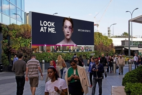 The Bruised Woman on This Billboard Heals Faster as More Passersby Look at Her | Wise Women Will Save the World | Scoop.it