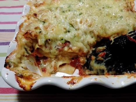 Lasagne met gebraden kip en twee verrukkelijke sauzen | Lekker Tafelen | Lekker Tafelen | Scoop.it