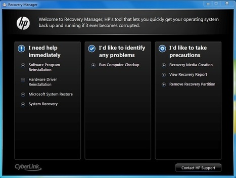 Ways to Access to Recovery Partition on HP Laptop | Password Recovery | Scoop.it