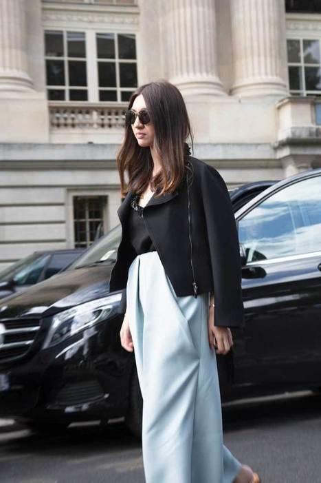 Shop the Look: Fancy Blue Pants • Trendbubbles | TRENDBUBBLES | Scoop.it