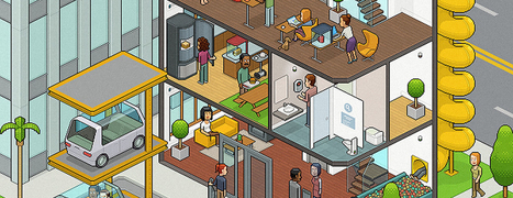 Une meilleure productivité dans les bureaux du futur ?   Aménagement des espaces de vie   Scoop.it