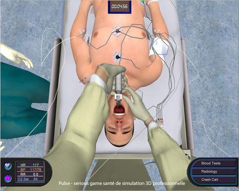 Simulation numérique en santé : vers une génération de médecins augmentés | Médecine d'urgence et Technologies de l'Information et de la Communication | Scoop.it