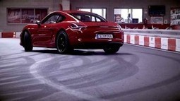 Porsche Cayman GTS : assez agile pour un circuit de Kart ! | Selection Auto | Scoop.it