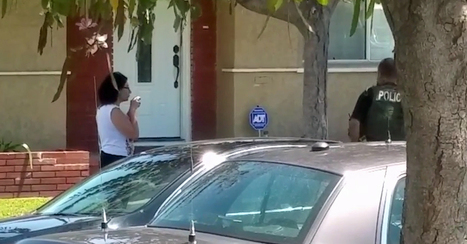 Video: U.S. marshal bashes woman's camera as she records police | Police Problems and Policy | Scoop.it