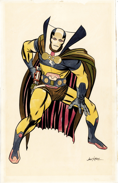 I Like this stuff — super-nerd: Mister Miracle - Jack Kirby | Jack Kirby | Scoop.it