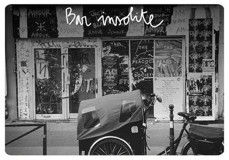 Bar insolite Paris : les meilleures adresses de bars insolites à Paris - Elle | Gastronomie Française 2.0 | Scoop.it