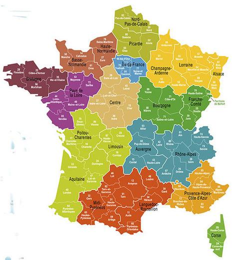 """Frankreich Tourismus - Die """"neuen"""" Regionen Frankreichs   Frankreich Tourismus   Scoop.it"""