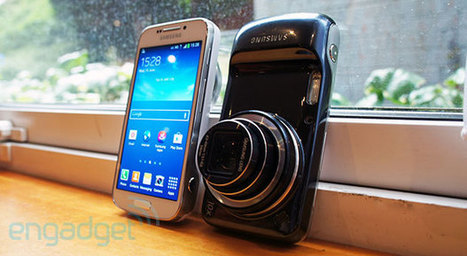 Samsung Galaxy S4 Zoom hands-on: 10x telephoto, 100x intrigue (video) | pixels and pictures | Scoop.it