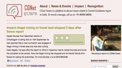 Dos ejemplos de periodismo ciudadano en la lucha contra la corrupción en India con @CGnet_Swara | Periodismo Ciudadano | Periodismo Ciudadano | Scoop.it