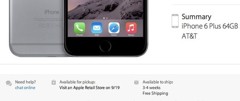 Four examples prove you should hold off pre-ordering the iPhone 6 - VentureBeat | App World | Scoop.it
