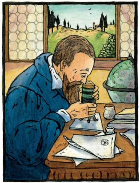 The Rebellious and Revolutionary Life of Galileo, Illustrated | Eminent Men | Scoop.it