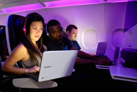 Google and Virgin America Offer Flyers to Test the New Chromebook | Brand Marketing & Branding | Scoop.it