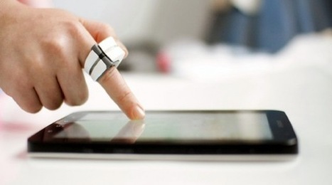 Finger Friend.. better touchscreen control for your tablet | Technology in Business Today | Scoop.it