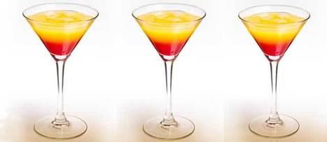 Tequila Sunrise, famoso coctel que puedes preparar en casa | tragos y coctels | Scoop.it