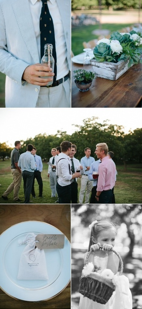 Tryary - For those who want more out of life - Casual Walnut Orchard Wedding | Rustic Chic Wedding | Scoop.it