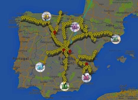 Mapa sonoro de las Marchas de la Dignidad | Los mapas del #15M | Scoop.it