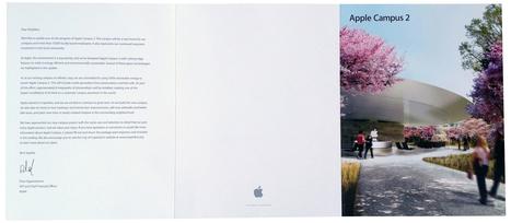 Apple envia mais um folder com esclarecimentos sobre seu novo campus em Cupertino | Apple Mac OS News | Scoop.it