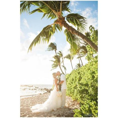 "Simple Maui Wedding on Instagram: ""This is what a wedding in Hawaii is all about...sand, palm trees and paradise. @karmahill #weddinginhawaii #simplemauiwedding #mauiwedding…"" 