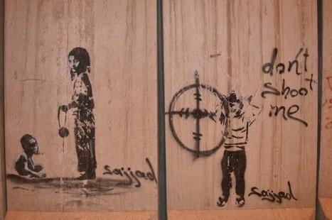 Iraq Street Art: Beautifying The Blast Walls | World of Street & Outdoor Arts | Scoop.it