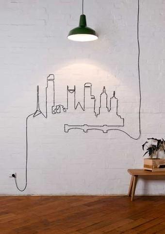 15 originales ideas para ocultar los cables de for Decoracion de interiores ideas originales