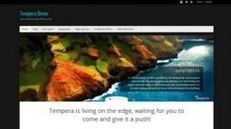 Tempera Free WordPress Theme   CMS   Scoop.it