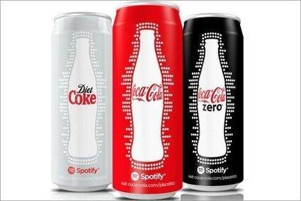 Coca-Cola lanza latas con música incluida, gracias a Spotify - Noticia - Internacional - MarketingNews.es | E-business and marketing | Scoop.it