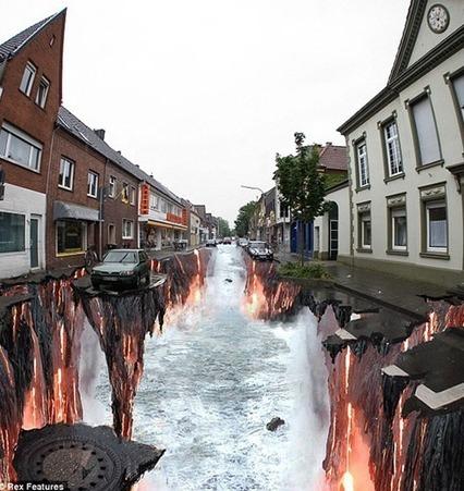25 Amazing Examples of 3D Street Art | IELTS, ESP, EAP and CALL | Scoop.it
