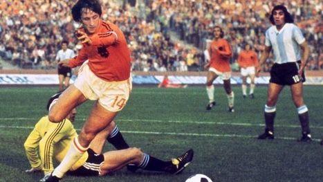 VIDEOS. Johan Cruyff, une carrière faite de titres et des gestes incroyables | 694028 | Scoop.it