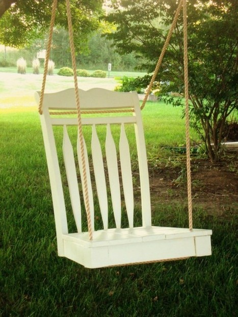 Chair Swing | Let's Upcycle! | Scoop.it