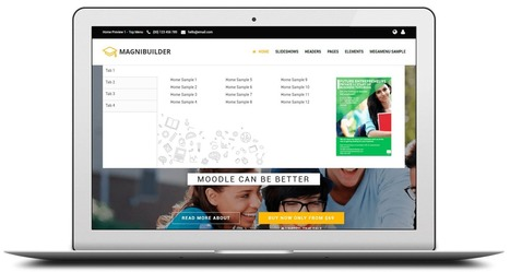Magnitown | MagniBuilder : more than a Premium Moodle Theme | Awesome Moodle systems | Scoop.it