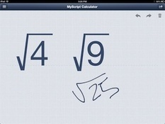 Get Math Calculations Using Your Own Handwriting With MyScript Calculator – iPad App Review | PadGadget | Tech in Education | Scoop.it
