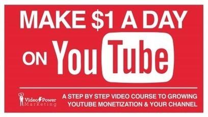 How to earn one dollar a day on YouTube. - Web Gadder | Earn money Internet | Scoop.it